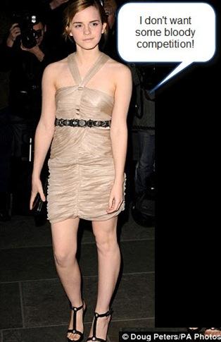 Emma Watson in Burberry photoshoot