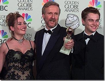Kate Winslet James Cameron Leonardo DiCaprio