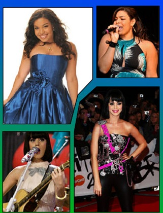 Jordin Sparks Katy Perry American Idol May 13