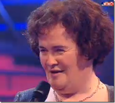 Susan Boyle Appears Happy Losing To Diversity