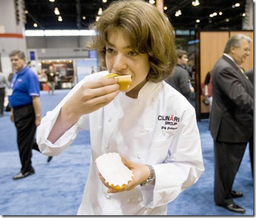 Greg Grossman 14 Year Old Chef Signs TV Deal
