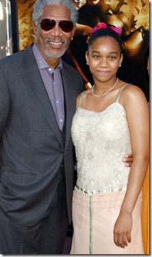 Morgan Freeman granddaughter Alexis