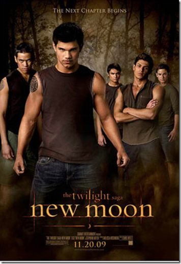 Taylor Lautner New Moon Poster
