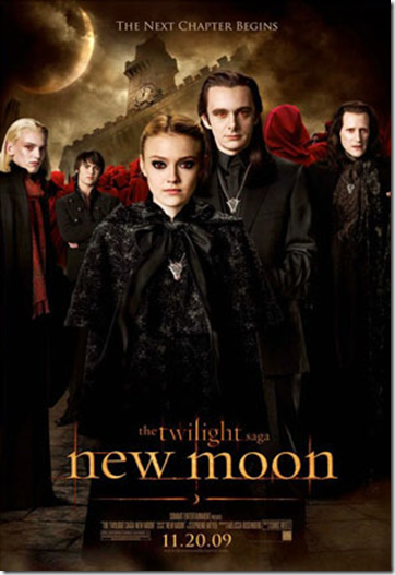 Dakota Fanning New Moon Poster