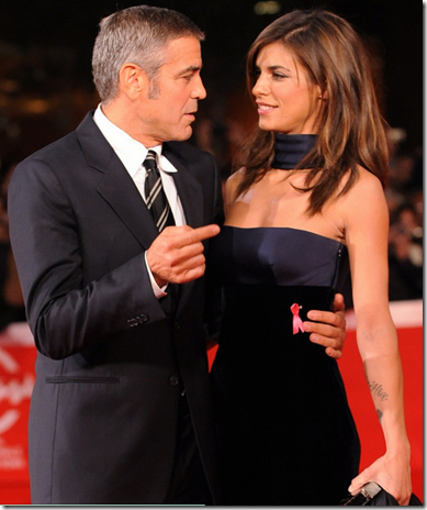 George Clooney Dating Elisabetta Canalis