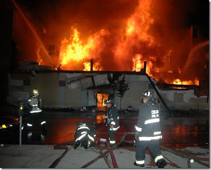 Estes Mall Fire