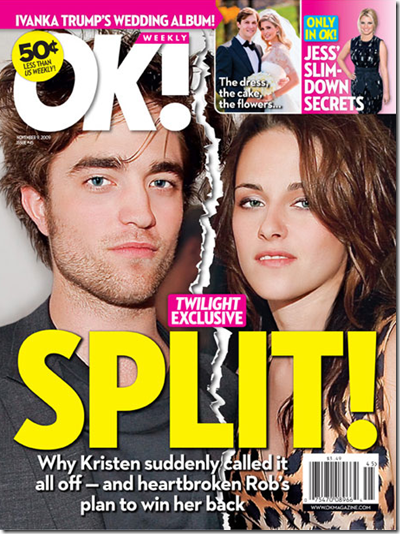 Robert Pattinson Kristen Stewart Breakup