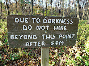 Darkness Warning