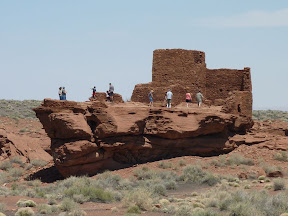 Wukoki Ruins in Wupatki NM