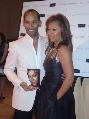 Sam Fine and Vanessa Williams