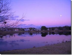 walking in sunset and moon 022