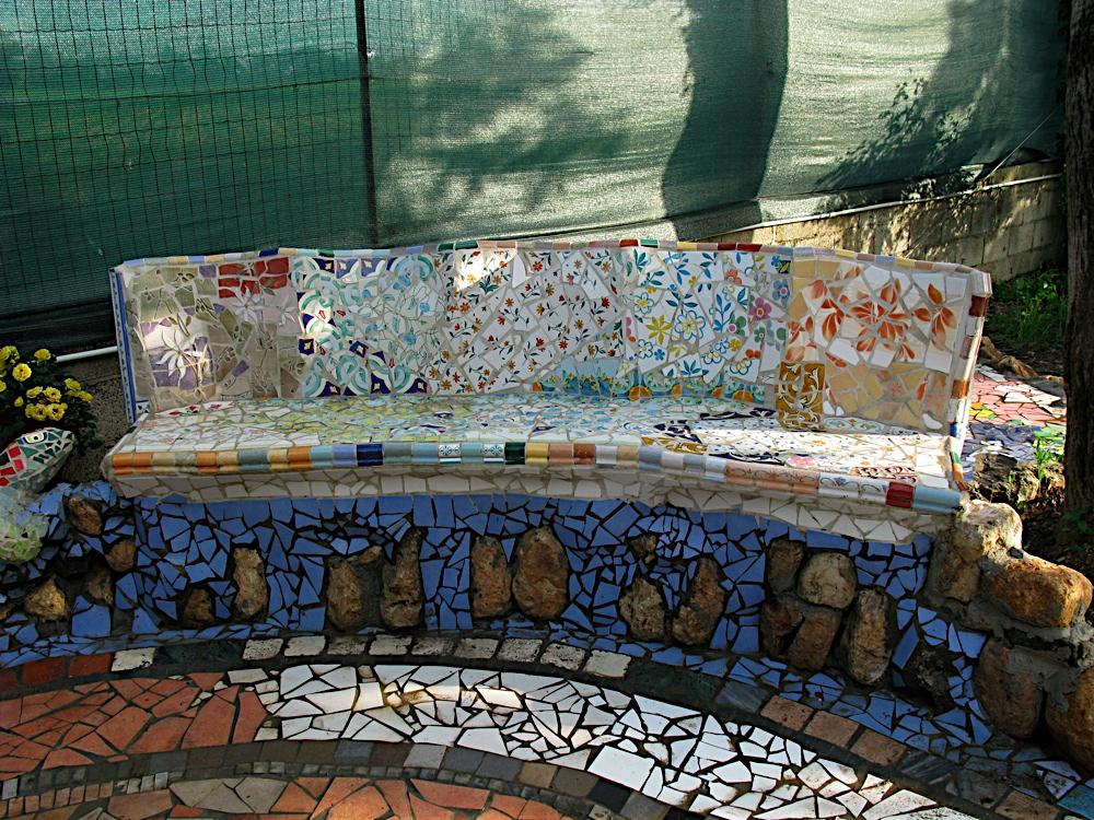 Mosaico con piastrelle affordable mosaico con piastrelle - Mosaico con piastrelle ...
