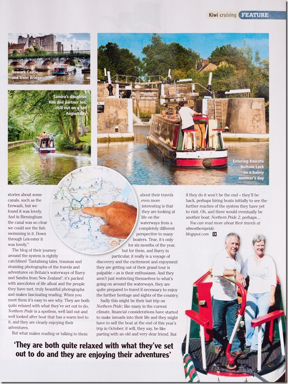Canalboat Magazine 8