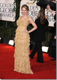 arrives at the 67th Annual Golden Globe Awards at The Beverly Hilton Hotel on January 17, 2010 in Beverly Hills, California.