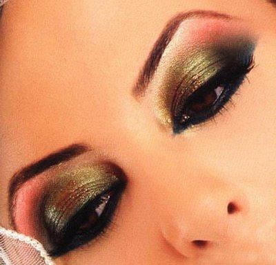 maquiagem de olhos em odaliscas