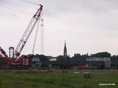 Dresden Baustelle Waldschlösschenbrücke