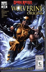 P00035 - Wolverine Origins #33