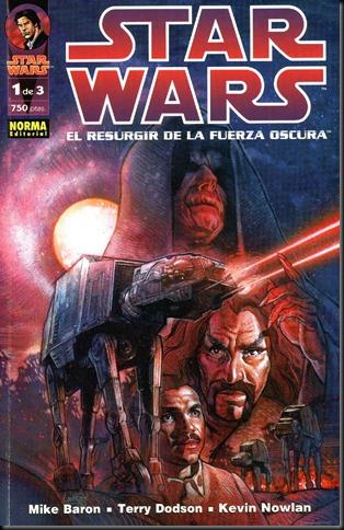 Star Wars - EL Resurgir de la Fuerza Oscura 1