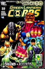 13 - Green Lantern Corps #33