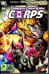 14 - Green Lantern Corps #34