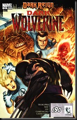 P00047 - Dark Reign - Dark Wolverine howtoarsenio.blogspot.com #76