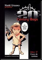 P00017 - 20th Century Boys - Tomo  - Cruce de caminos.howtoarsenio.blogspot.com #17
