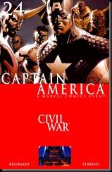 P00024 - Capitán América  Panini v6 #24