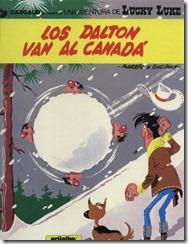 P00022 - Lucky Luke  - Los Dalton van al Canada #22