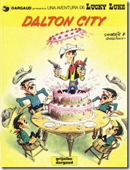 P00034 - Lucky Luke  - Dalton City #34