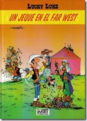 P00004 - Lucky Luke - Relatos cortos - Un Jeque en el Far West