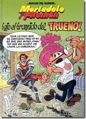 P00176 - Mortadelo y Filemon  - Bajo el bramido del trueno.howtoarsenio.blogspot.com #176