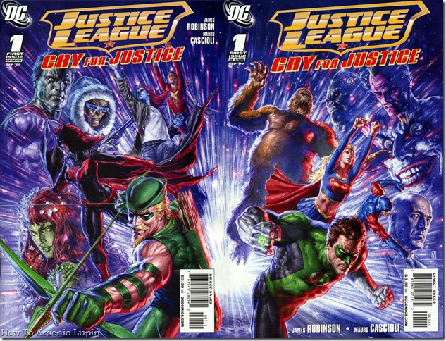2011-05-05 - JLA - Cry For Justice