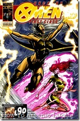 P00006 - Uncanny X-Men First Class #6