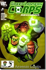 P00318 - 310 - Green Lantern Corps Recharge #1