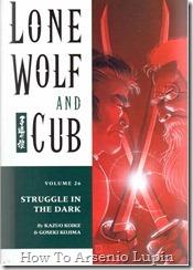 Lobo solitario y su cachorro T26