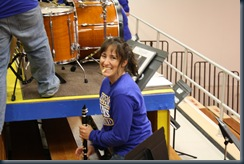 pep band set up 003