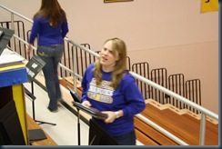pep band set up 005