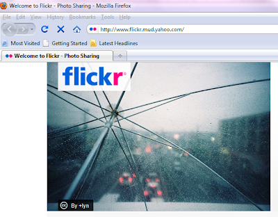 If Flickr Is Blocked, Use The Altenative URL