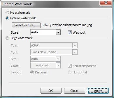 how to add background in word