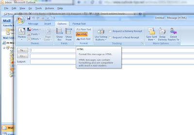 How to convert Plain Text Email to HTML in Outlook