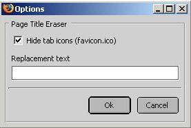 Page Title Eraser Config