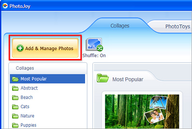 Convert Your Pictures into Collages, Screensavers and Widgets