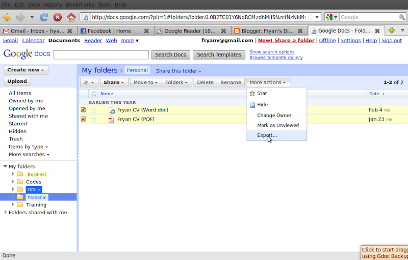 how to make file available offline google doc