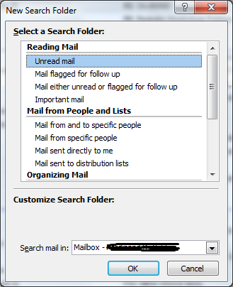 How To Restore Unread Folder In Outlook Favorite Folders
