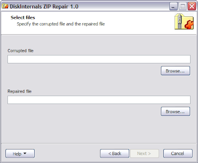 Fix Corrupted Zip Files With DiskInternals ZIP Repair