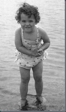 Kathy at Beach