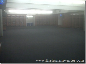 Ford Field Lions Home Locker Room