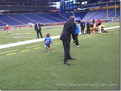 """Touchdown Fun Run"" at Ford Field"