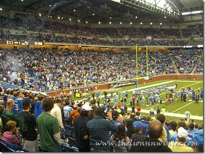 Matthew Stafford&#39;s introduction at Ford Field vs. the Jets, November 7th 2010.