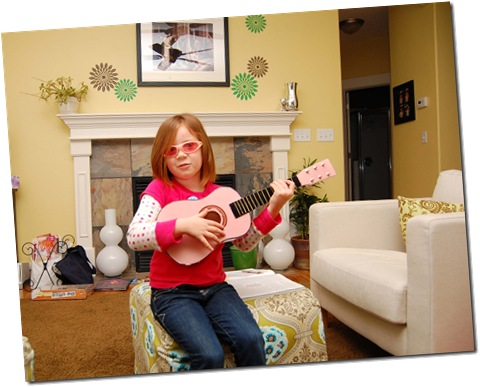 Hallie the Rock Star